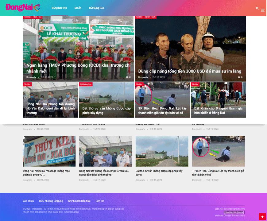 Giới thiệu Trang Đồng Nai TV.com